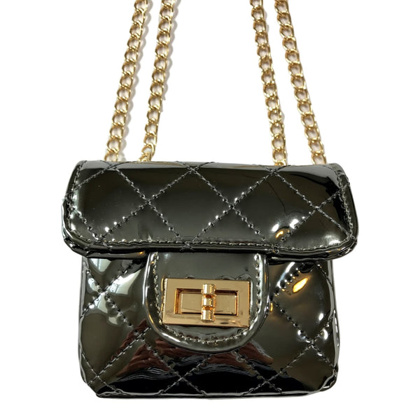 Doe a Dear Mini Metallic Cross Body Bag - Frolicstyle