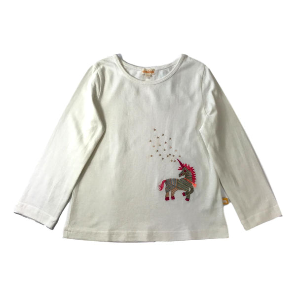 Almirah Embroidered Unicorn Long Sleeve Shirt - Frolicstyle
