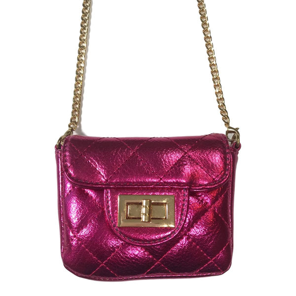 Doe a Dear Mini Cross Body Quilted Bag - Frolicstyle