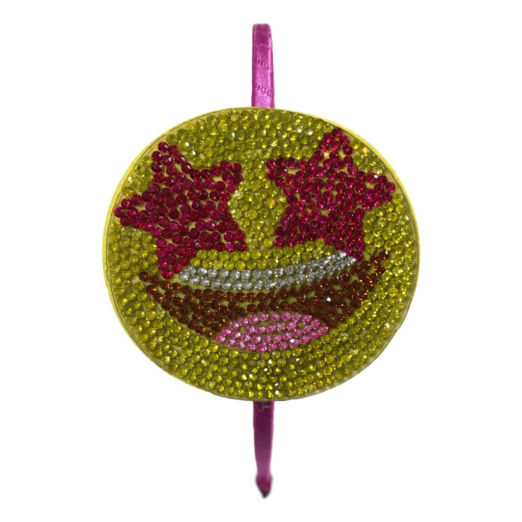 Bari Lynn Starry Eyed Smiley Face Headband - Frolicstyle