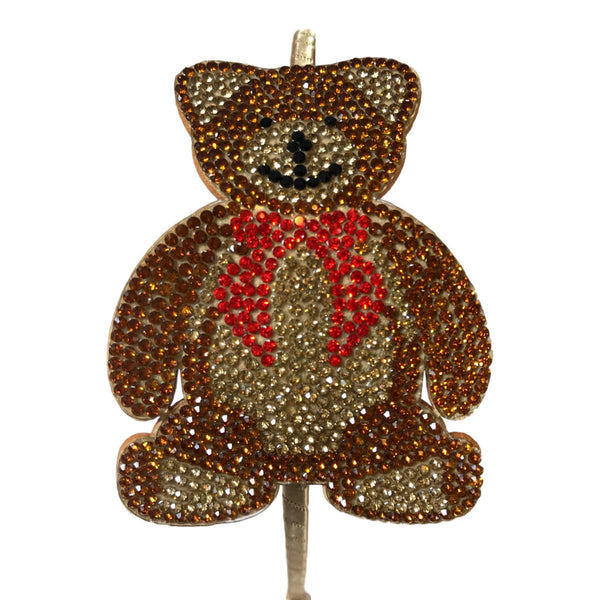 Bari Lynn Smiley Face Bear Studded Headband - Frolicstyle