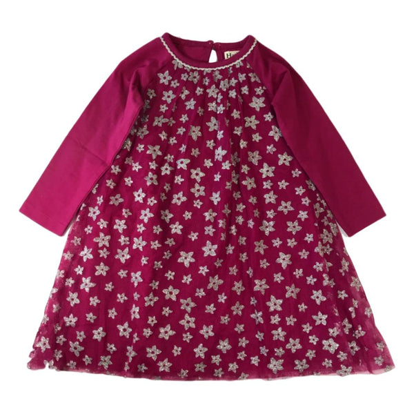 Hatley Girls Sparkly Starflowers Tulle Dress - Frolicstyle