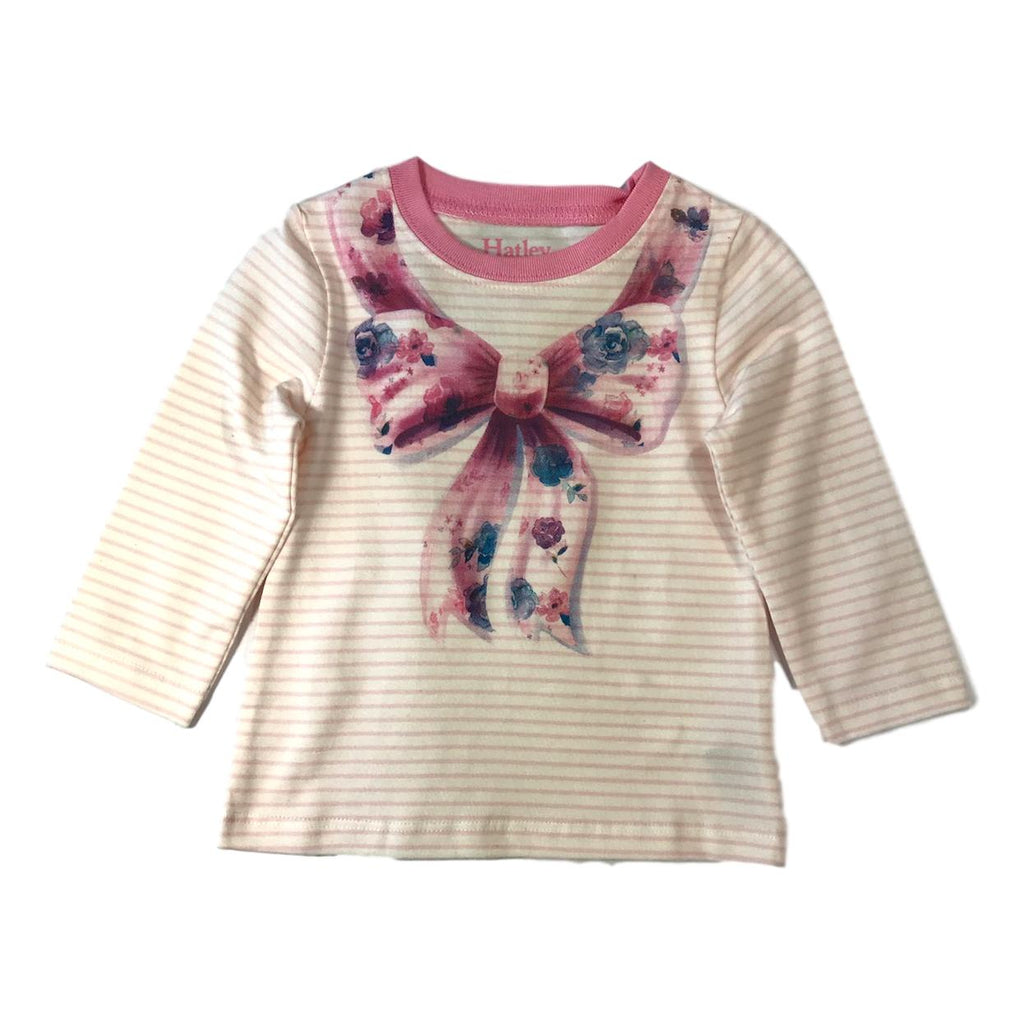 Hatley Baby Magical Bow Long Sleeve Pink Tee - Frolicstyle