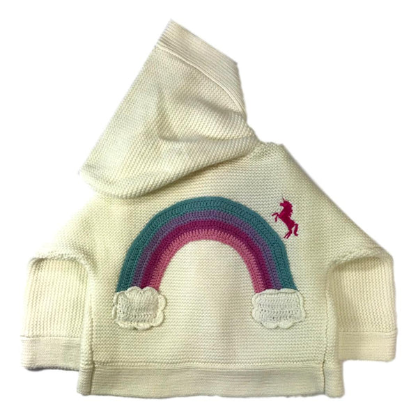 Hatley Chasing Rainbows Baby Duffle Sweater - Frolicstyle