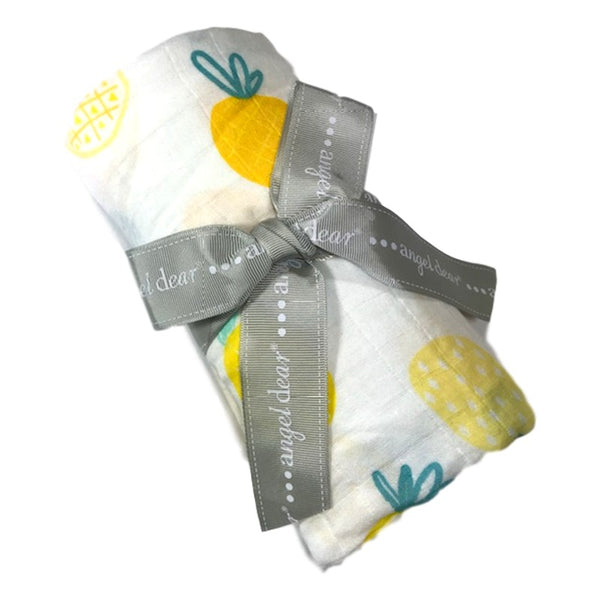 Angel Dear Pineapple Swaddle Blanket - Frolicstyle