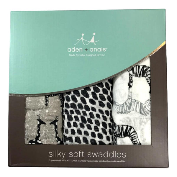 Aden + Anais Sahara Motif 3-Pack Silky Soft Swaddle - Frolicstyle