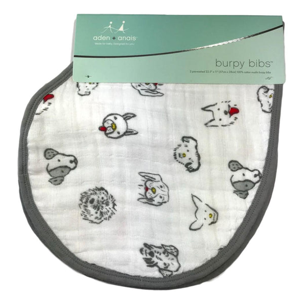 Aden + Anais 2-Pack Classic Bib - Year of The Dog - Frolicstyle