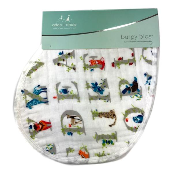 Aden + Anais 2-Pack Burpy Bib - Paper Tales - Frolicstyle