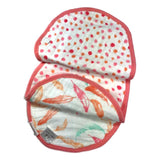 Aden + Anais 2-Pack Classic Bib - Petal Blooms - Frolicstyle