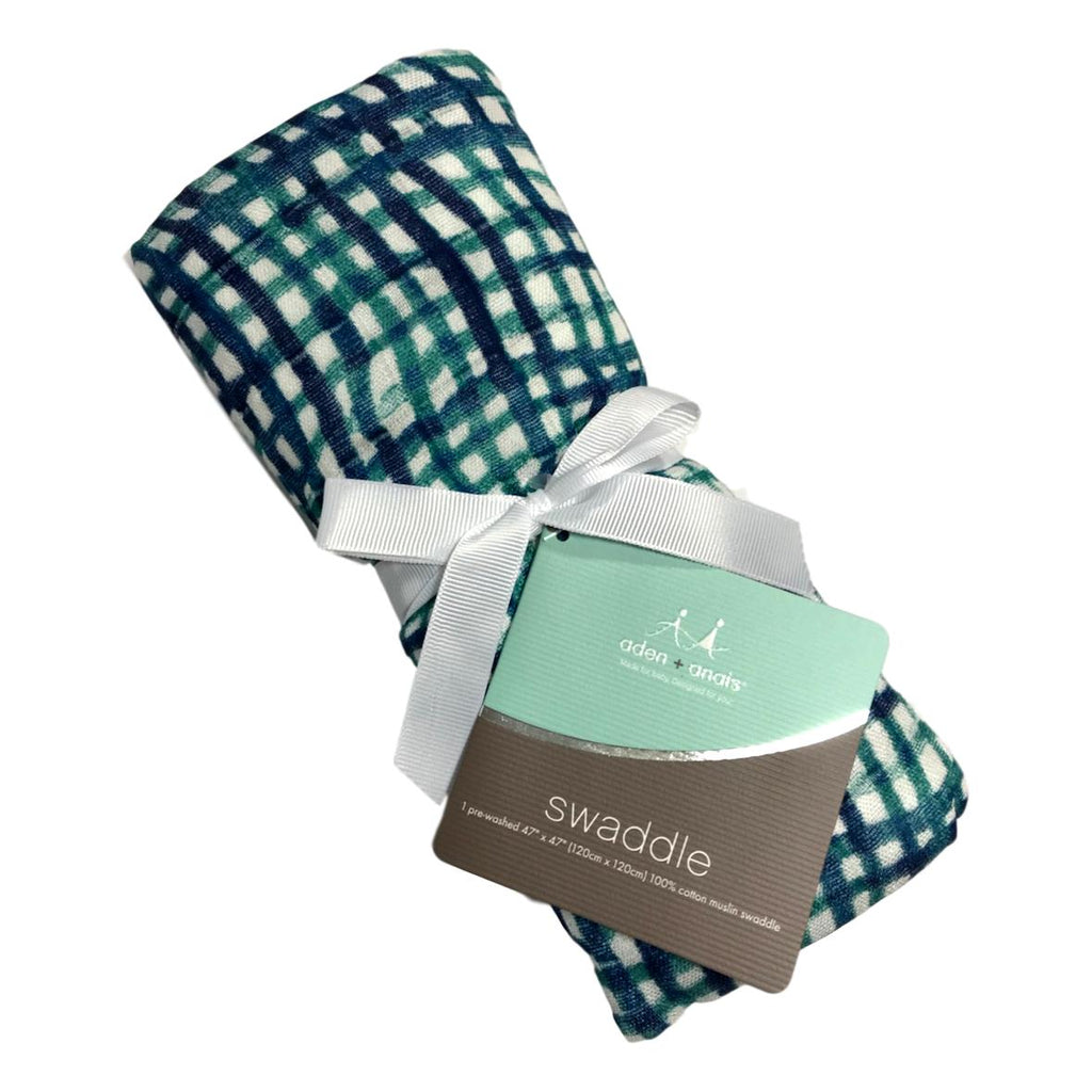 Aden + Anais Seaport Silky Soft Swaddle - Frolicstyle