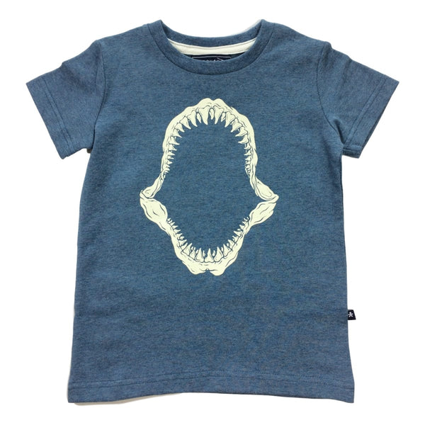 Toobydoo Jaws Print Short Sleeve Tee - Frolicstyle