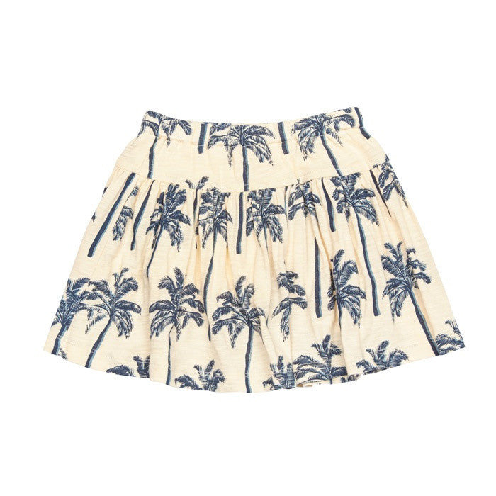 Pink Chicken Krista Palm Tree Graphic Skort - Frolicstyle