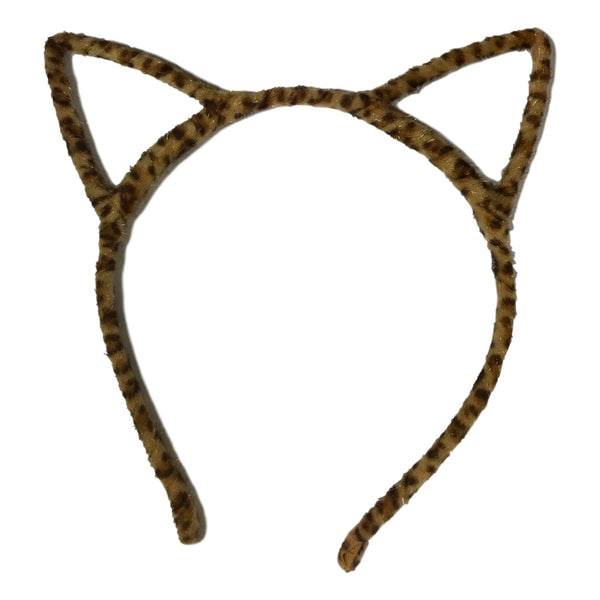 Couture Clips Furry Cat Ears - Leopard