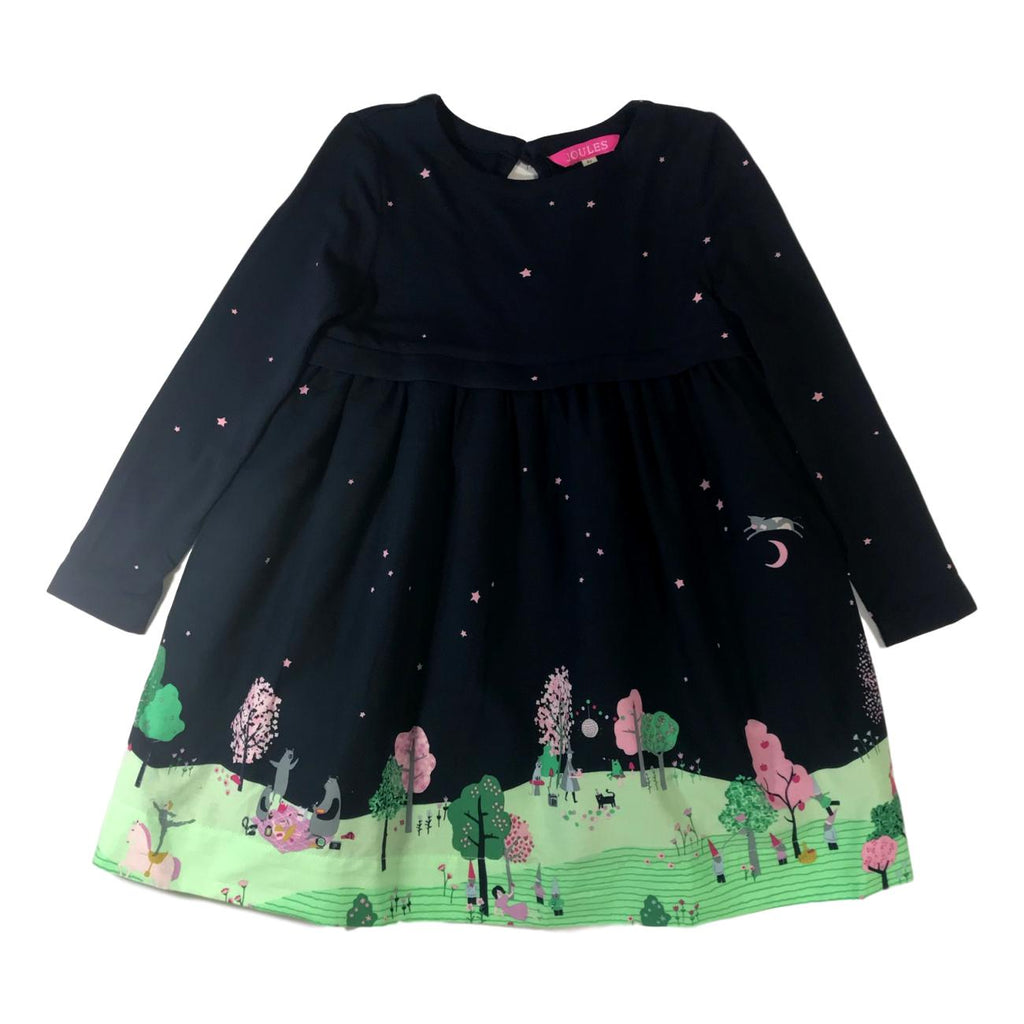 Joules Merrie Fairytale Navy Dress - Frolicstyle