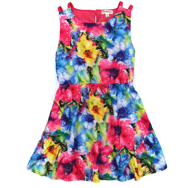 Appaman Sleeveless Floral Pattern Tinos Dress - Frolicstyle