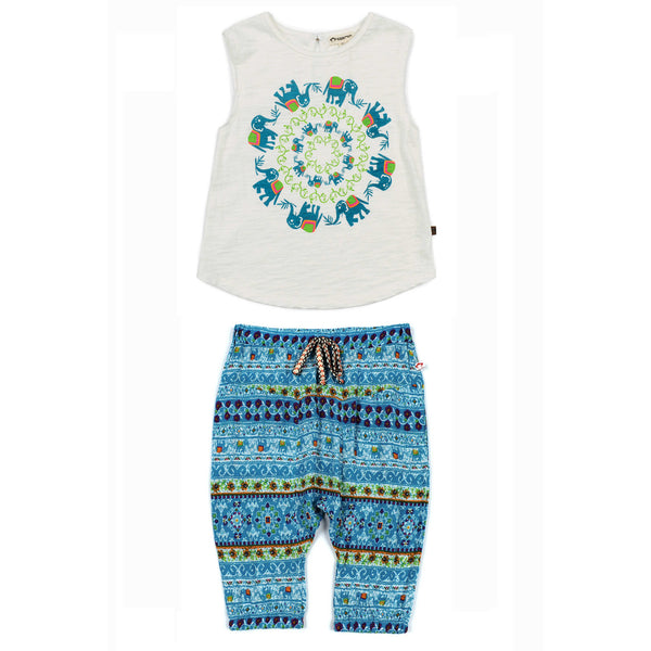 Appaman Two Piece Samet Sleeveless Tank and Chang Capris - Frolicstyle