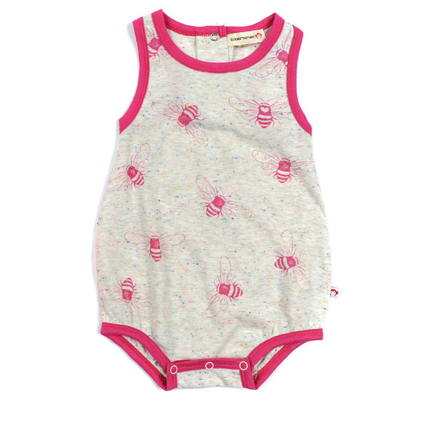 Appaman Honey Bee Pattern Sleeveless Romper - Frolicstyle