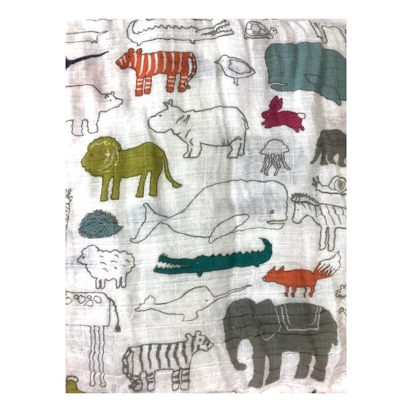 Pehr Noah's Ark Swaddle - Frolicstyle