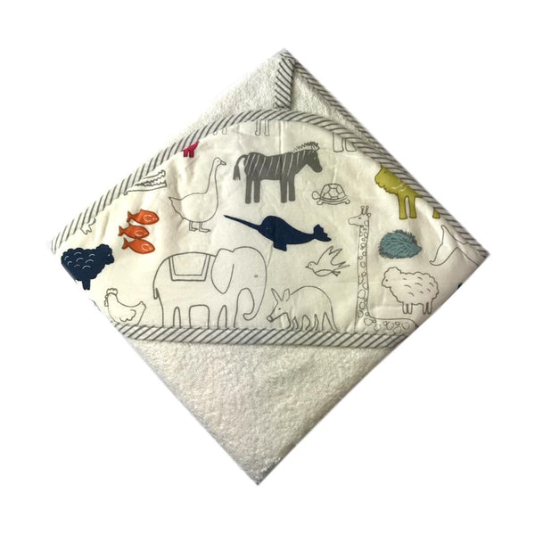 Pehr Hooded Towel - Noah's Ark - Frolicstyle