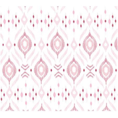 Angel Dear Pink Ikat Swaddle Blanket - Frolicstyle