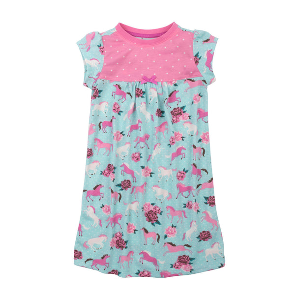 Hatley Ponies and Peonies Sleeveless Nightgown