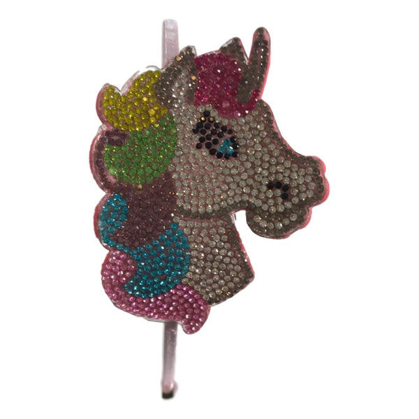 Bari Lynn Rainbow Unicorn Emoji Studded Headband
