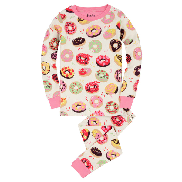Hatley Sweet Donuts Organic Cotton Pajamas - Frolicstyle