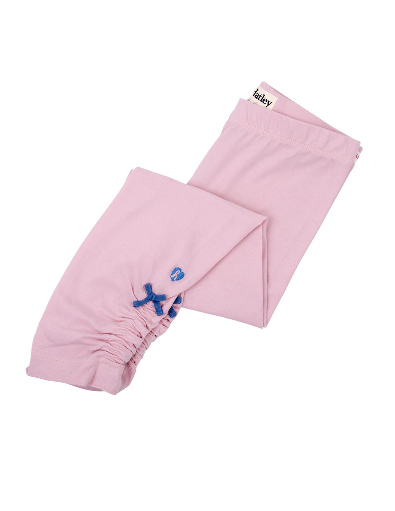 Hatley Girls Leggings - Light Pink Elastic Waist - Frolicstyle
