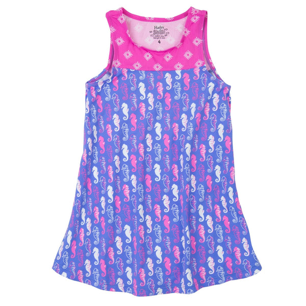 Hatley Pink Seahorse Sleeveless Coverup - Frolicstyle