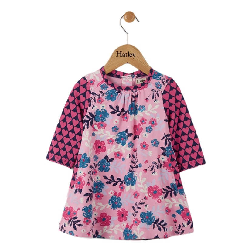 Hatley Wintery Blooms Baby Swing Dress - Frolicstyle