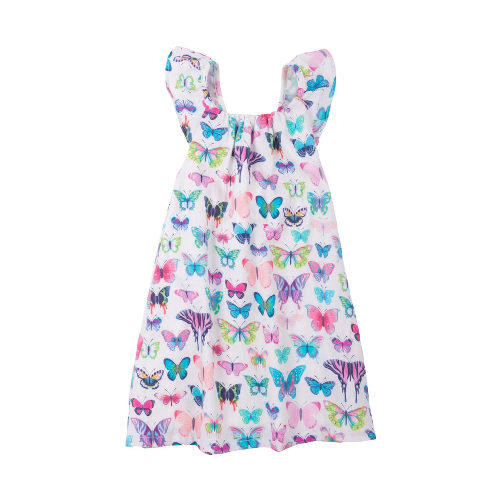 Hatley Botanical Butterflies Bow Back Dress - Frolicstyle