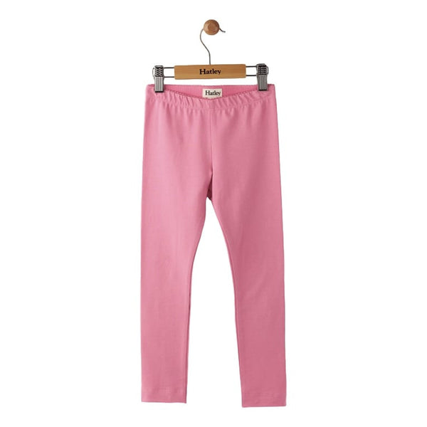 Hatley Baby Leggings - Candy Pink Elastic Waist Ankle Length - Frolicstyle