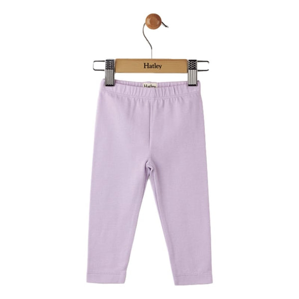 Hatley Baby Leggings - Lilac Elastic Waist Ankle Length - Frolicstyle