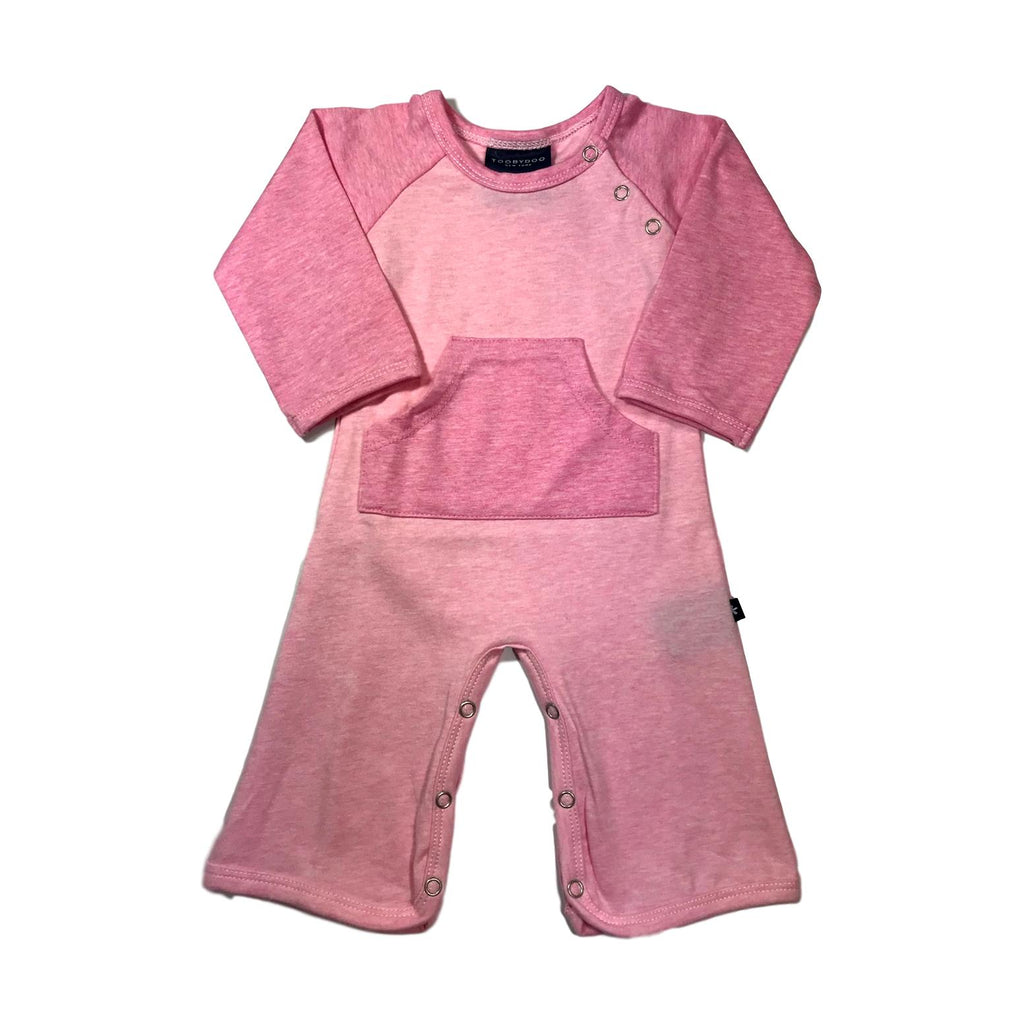 Toobydoo Long Sleeve Player Pink Jumpsuit