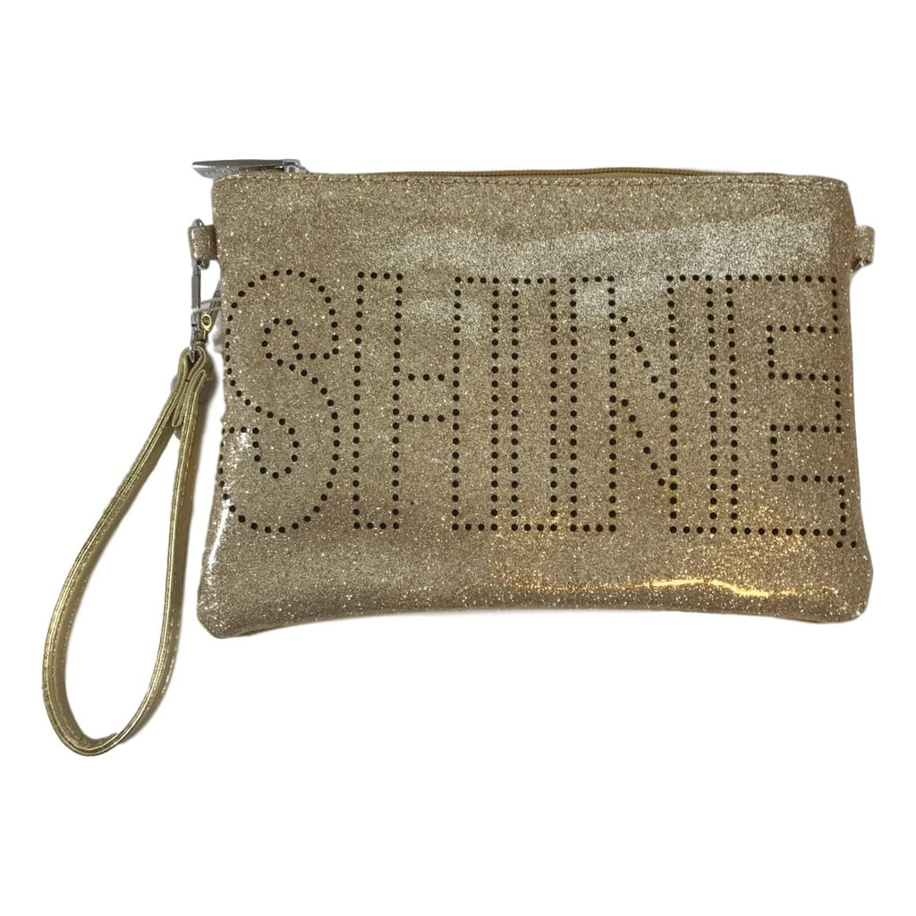 Bari Lynn Double Sided Saying Glitter Finish Bag - Frolicstyle