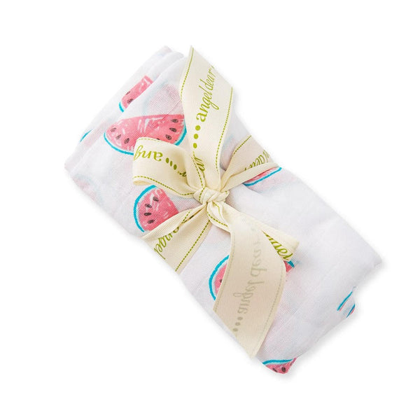 Angel Dear Watermelon Bamboo Swaddle Blanket - Frolicstyle