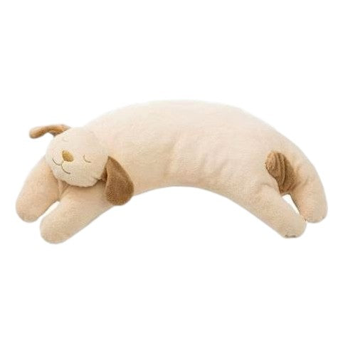 Angel Dear Brown Puppy Curved Pillow - Frolicstyle