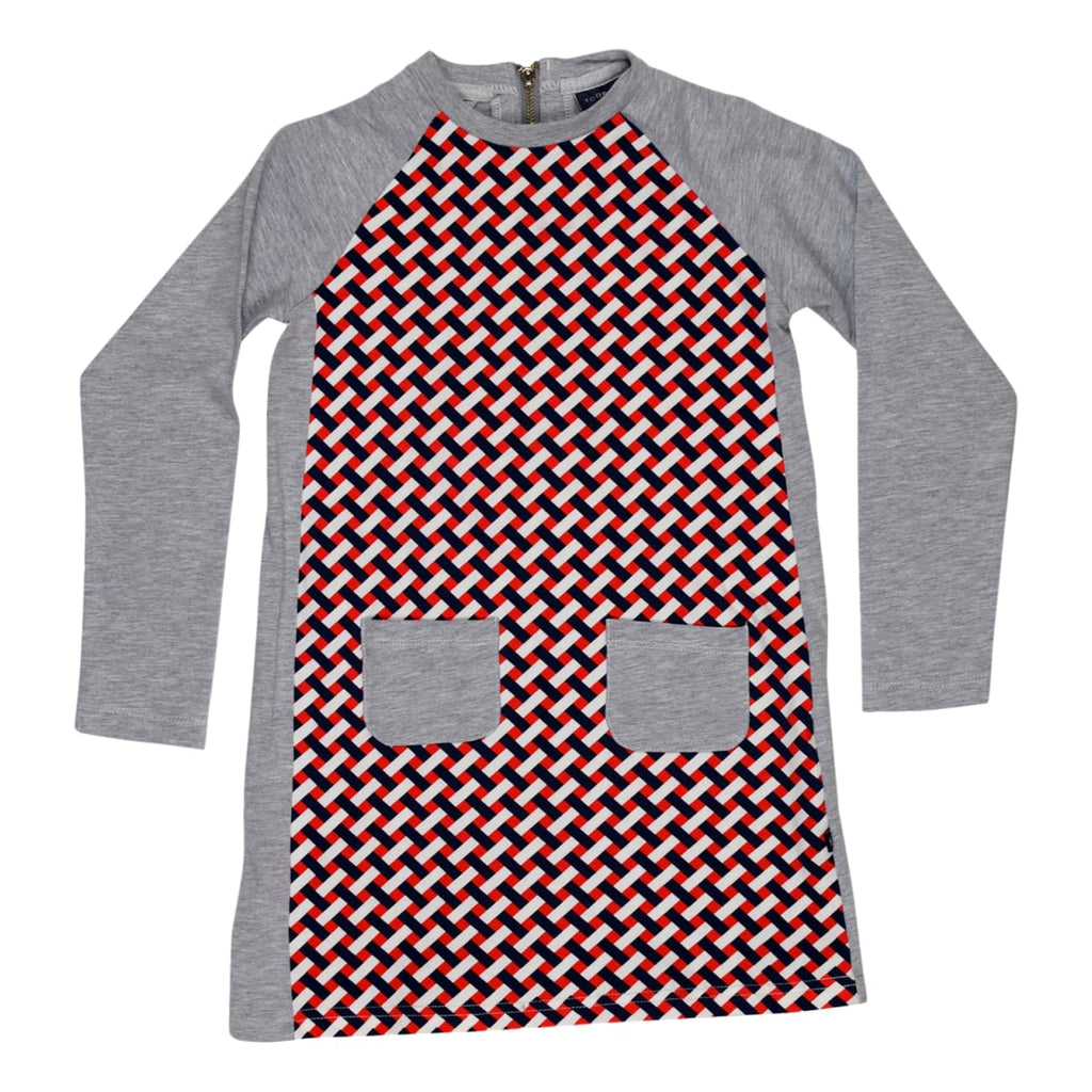 Toobydoo Eileen Long Sleeve Girls Dress - Frolicstyle