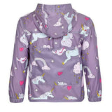Holly&Beau Grey Unicorn Color Changing Raincoat - Frolicstyle