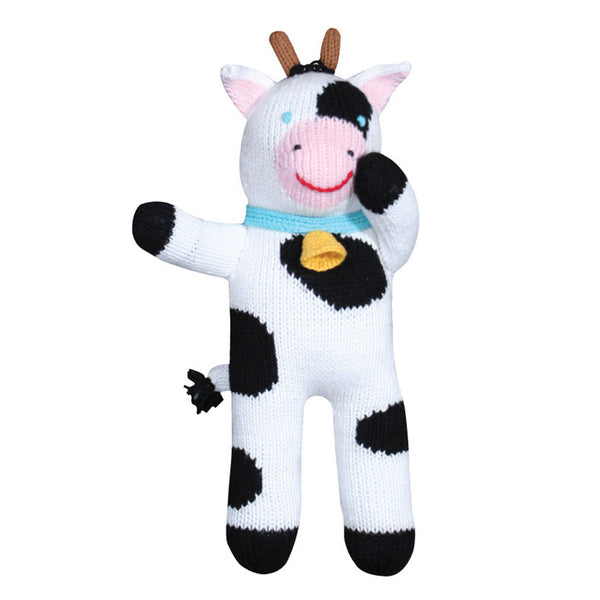"Zubels 12"" Cowleen The Spotted Cow Doll"