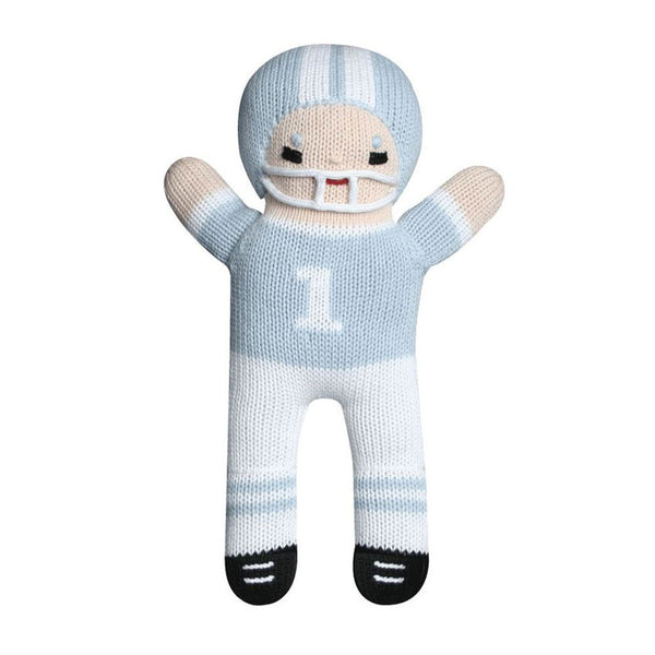 "Zubels Football Player 7"" Doll With Rattle - Frolicstyle"