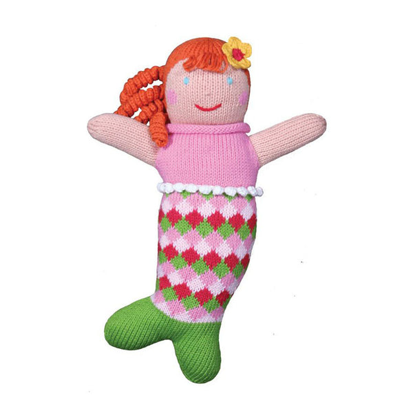 "Zubels 12"" Mermaid Penny Doll"