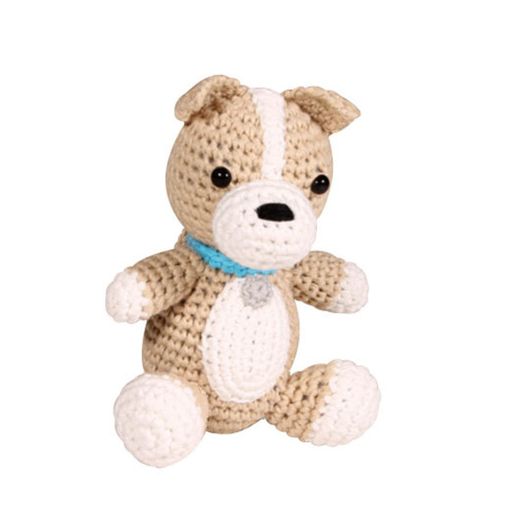 Zubels Dog Crochet Rattle - Frolicstyle