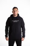 INCEPTION BLACK HOODIE