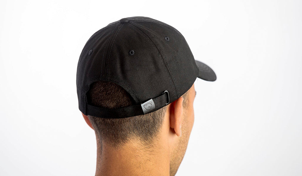 Dad Hat - Black (White logo)