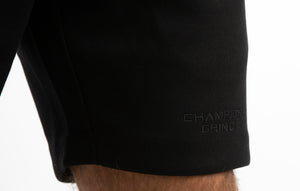 INCEPTION BLACK SHORTS