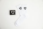 White Socks (Black Logo)