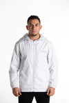 INCEPTION WHITE WINDBREAKER