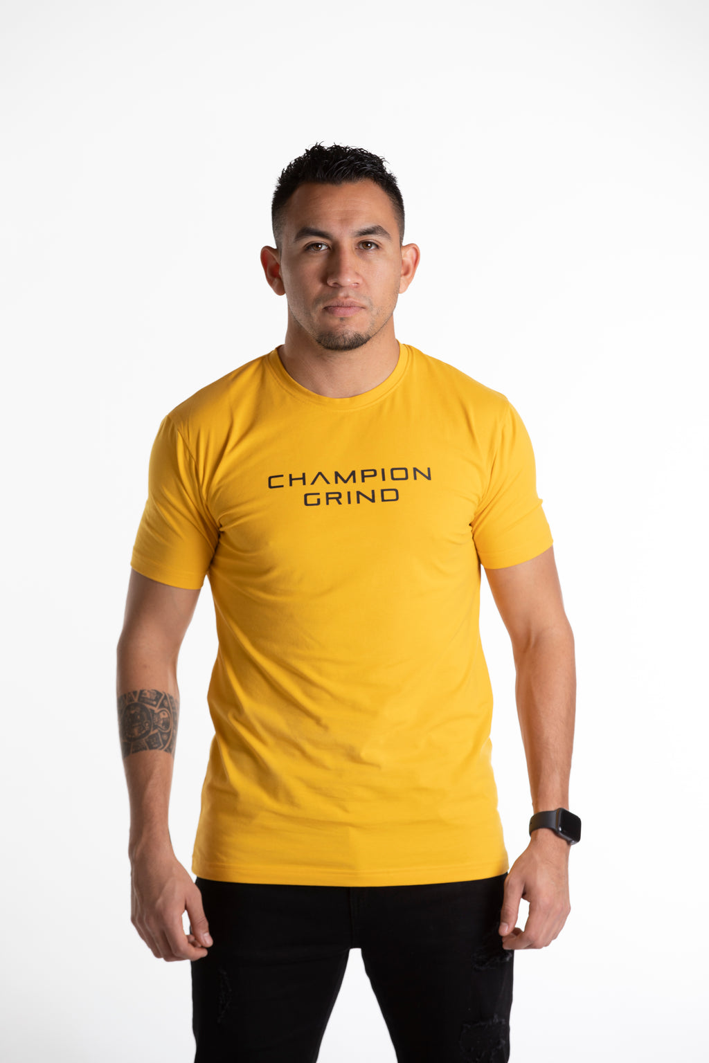 INCEPTION YELLOW SHIRT