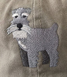 Schnauzer Embroidered Baseball Cap